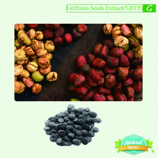 Griffonia Seeds Extract 5-HTP ≥25% 25kg/drum