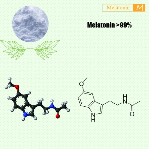 Melatonin >99% 5kg/bag by LuoTian