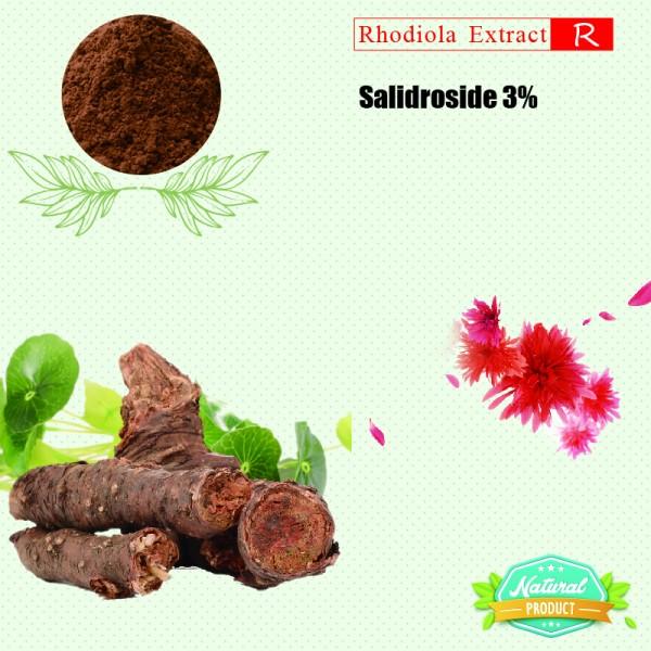 Rhodiola Rosea Extract Salidrosides 3% 25kg/drum
