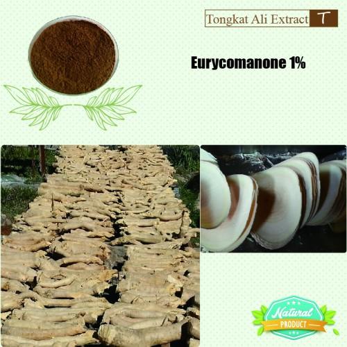 Tongkat Ali Extract Eurycomanone 1%  25kg/drum